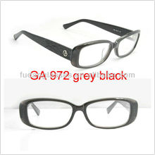 hot sell eyeglasses GA972 R6S EG grey black glasses fashion 2013 eye glasses frame ,frames for eyewear