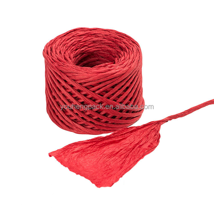 Hot selling paper bags string handle rope