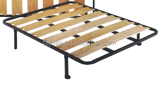 modern queen size bed frame/platform DJ-PM02 belong to iron steel metal bed bedroom furniture