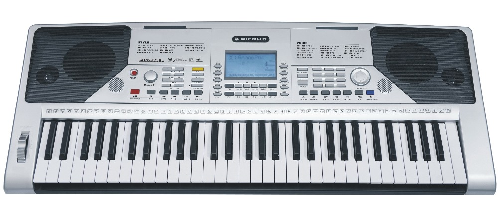 With QC portable keybed midi electronic keyboard controller