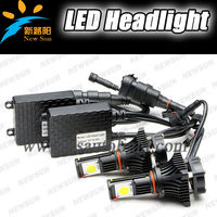 Automotive led head lamp projector headlight for all cars vehicle motorcycle head front lights lamps based on 9005 hb3 bulbs