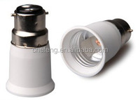 B22 to E27 Lamp holder converter,lamp base, lamp adapter