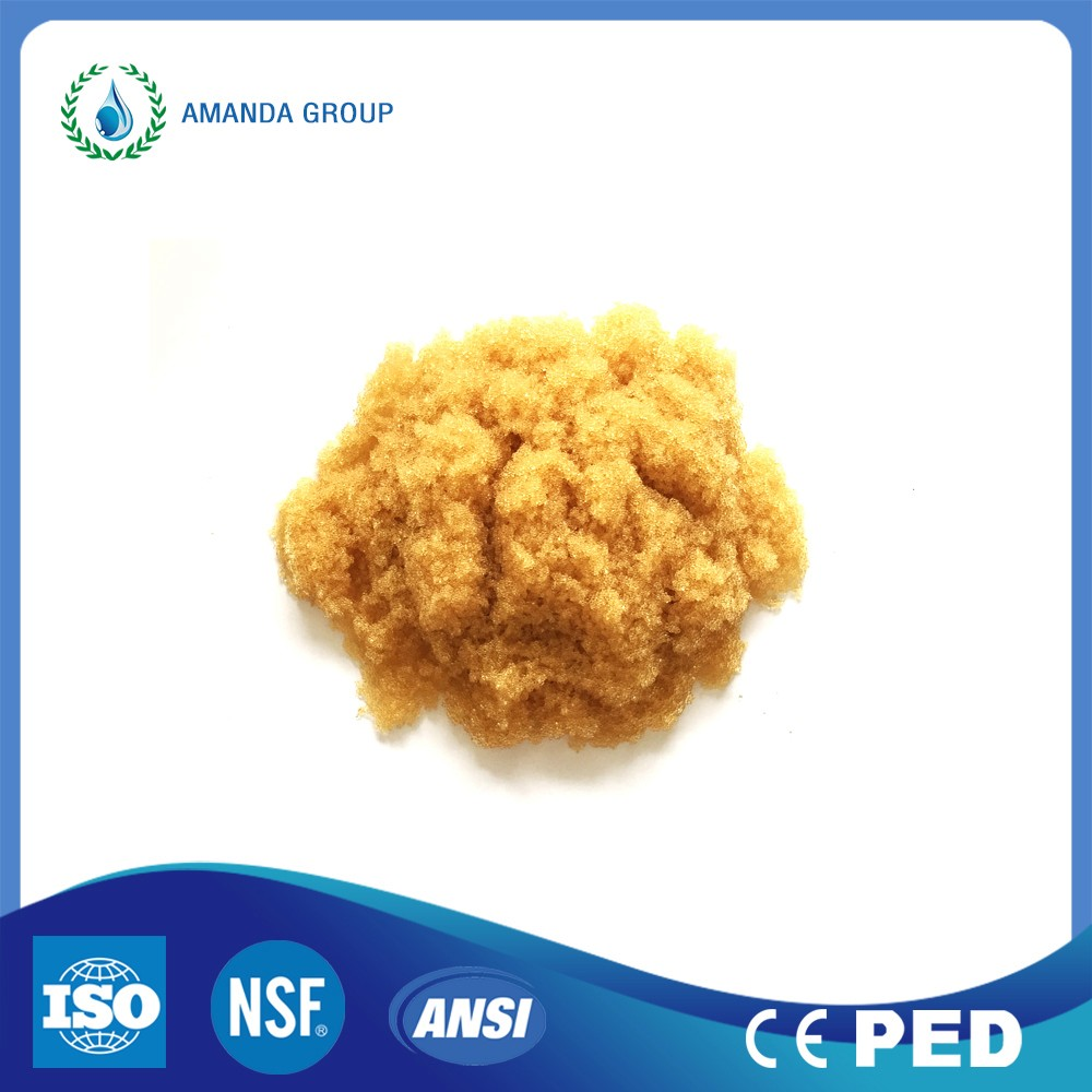 water purification strong base marcoporous anion resin
