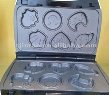 new design 6pcs cake maker