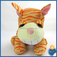 30cm cute big head plush toy tiger stuffed forest animal sitting soft toys tiger