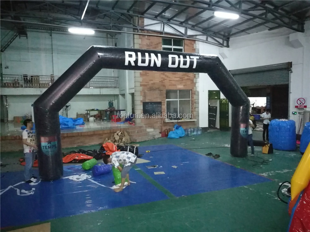 Racing Inflatable Run Out Arch
