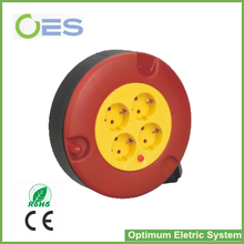 Factory Supply CE listed Mini European Electrical Cable Reel/Plastic Auto-rewind Cable Drum
