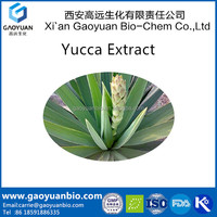 Feed Additive Pure Yucca Schidigera Extract powder, sarsapogien, smilagenin, hecogenin, saponin-free, gluco-components