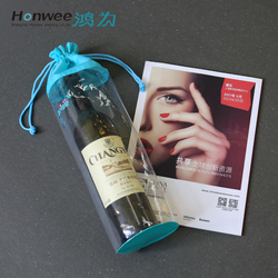 Manufacturer Handled Style and Non-woven Material Wine Tote Bag wine bags