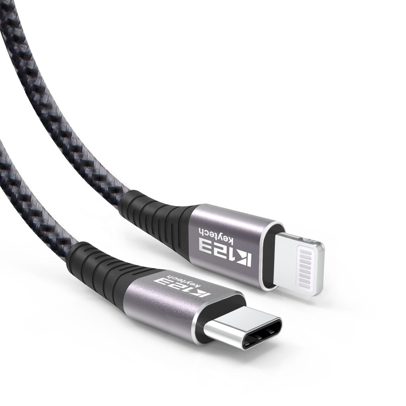 C94 Braided wire type <strong>c</strong> fast cable for iPhone for Macbook Power usb cable data