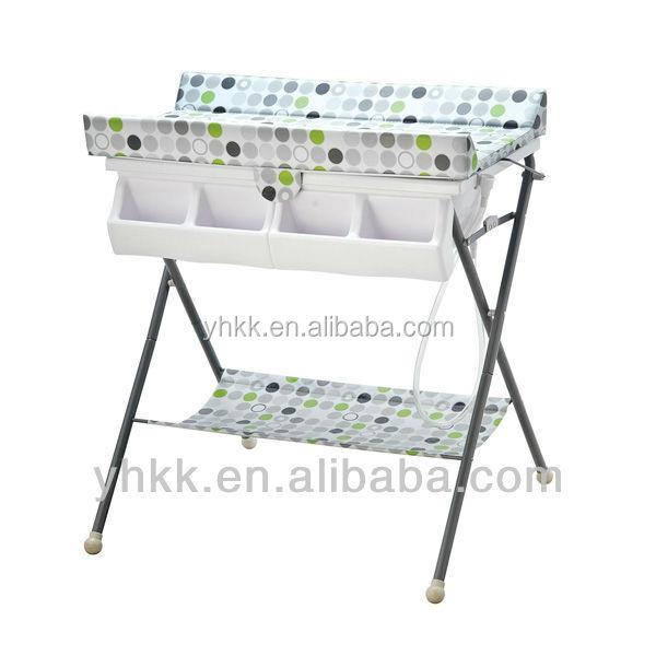 Pas cher b b table langer avec baignoire meubles b b s for Table a langer haute