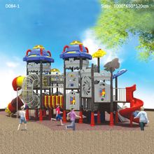 2017 new space theme playground equipment outdoor playground for kids