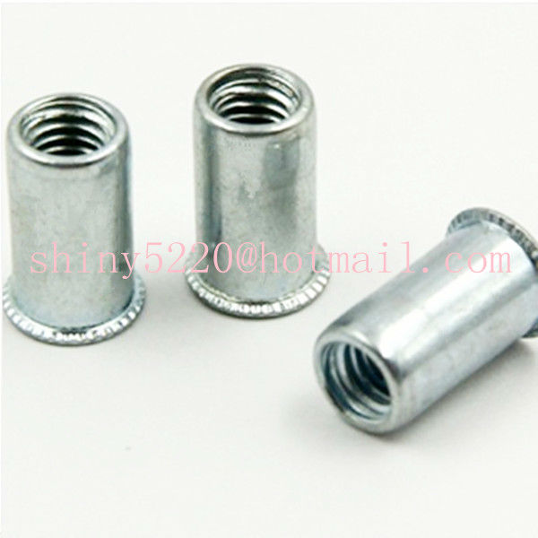 Flat Head Rivet Nut M4 for Railway High Efficiency Pack of 100