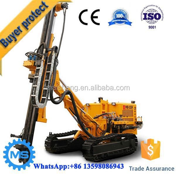 High efficiency top drive head portable water well drilling rig