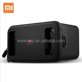 Original Xiaomi VR box 3D Virtual Reality Glasses cardboard MI VR apply to phones 4.7~5.7 Smartphone