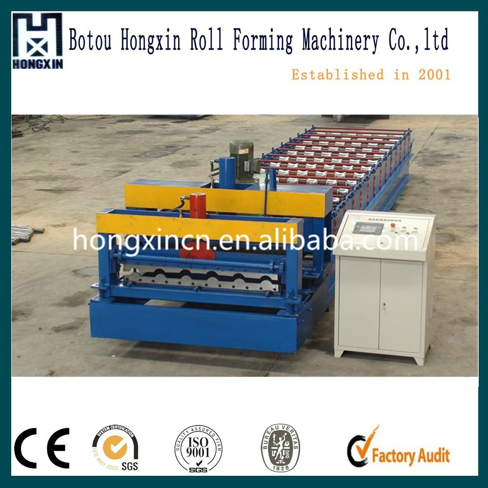 Factory Outlet Metal Roof Glazed Tile 1080 Profile Steel Making Roll Forming Machine