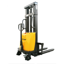 Electric Reach Stacker electric stacker manual forklift manual pallet stacker