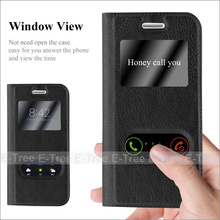 Magnet View Window Touch Leather Flip Phone Case Back Cover For Samsung Galaxy S3mini I8190