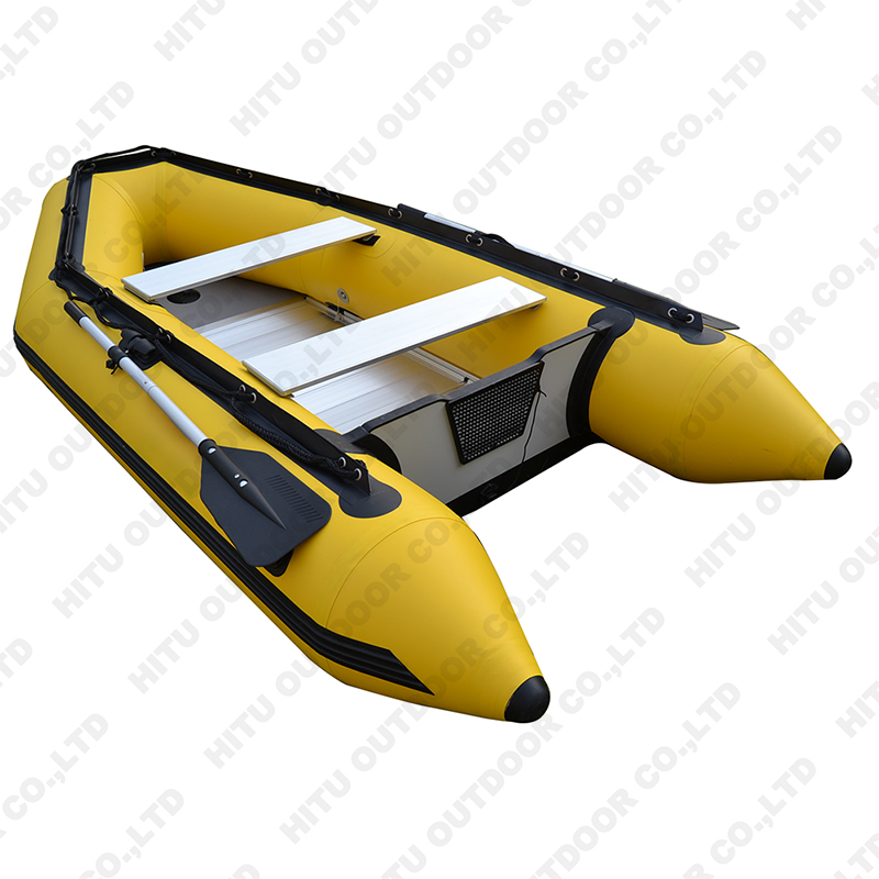 High quality 4 person 3m durable pvc aluminum hull rigid inflatable tender boat