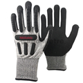 NMSAFETY TPR mechanical cut and impact resistant work gloves