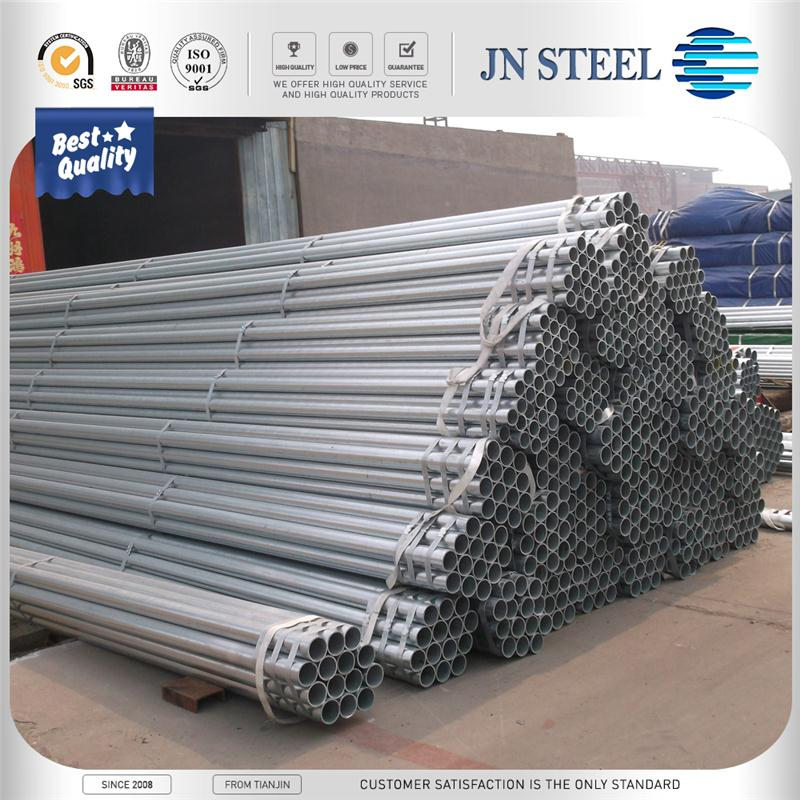 galvanized square steel tube / pipe astm a53 schedule 60 galvanized steel tube