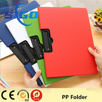 High quality customized waterproof paper fastener files folder