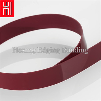 solid color pvc edge banding for MDF board