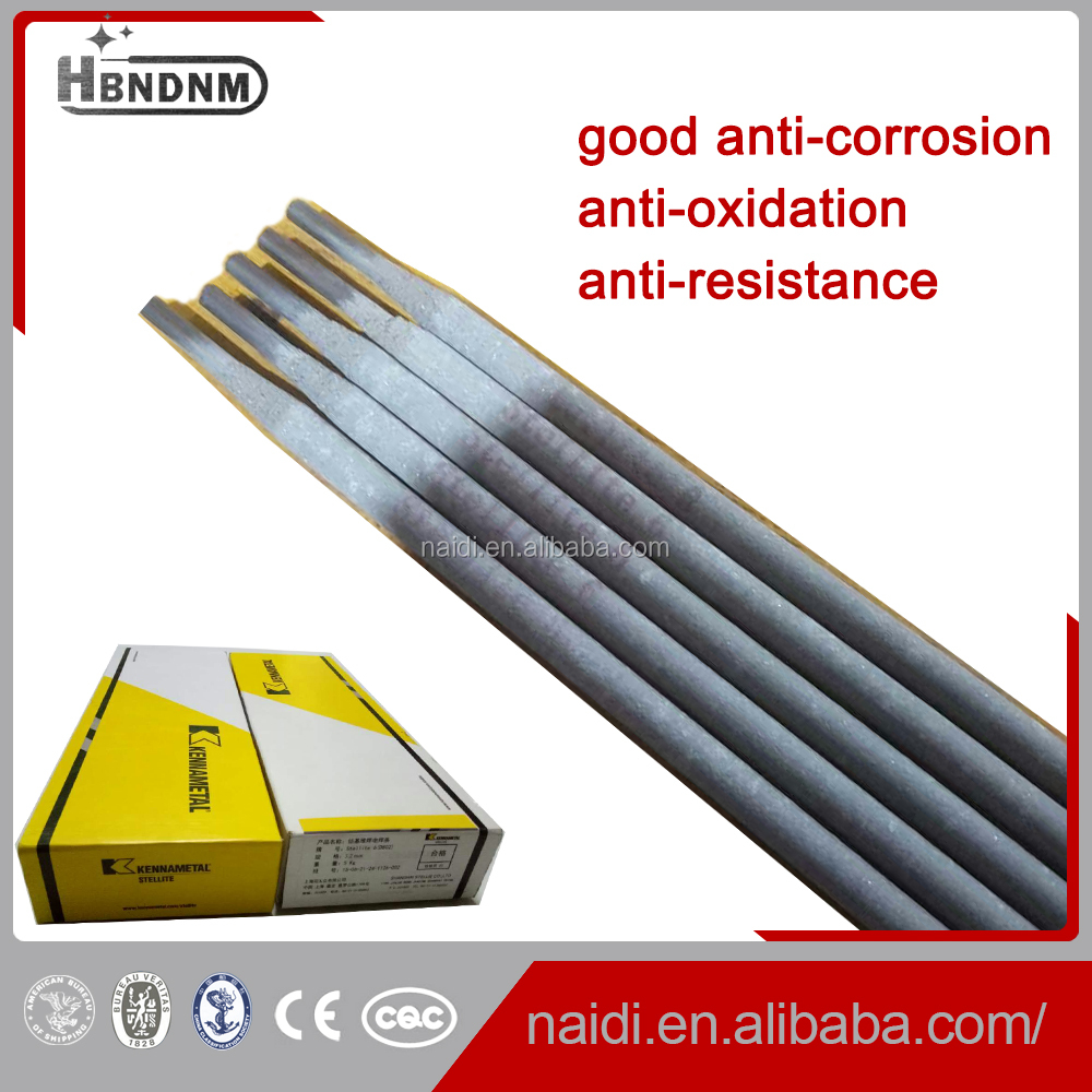 AWS A5.13 ECoCr-A hardfacing welding rods 3.2mm