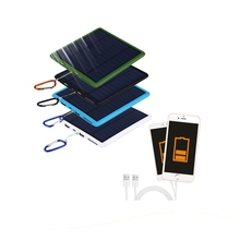 New General Style Square Universal 20000Mah Solar Charger Power Bank