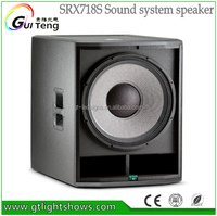 New designs for 18 inch Neodymium Magnet speaker subwoofer SRX718S