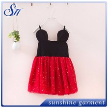 Factory direct sales movie modern nice dresses for girls of 7 years old