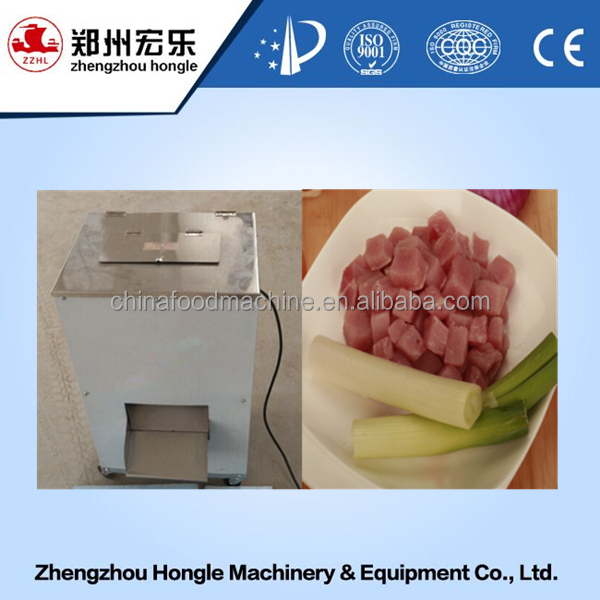 meat cutting machine meat cube cutter meat dicing machine price
