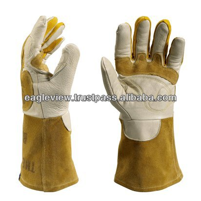 Leather Working Gloves Applications: Vehicle, Handling, Rigging Leather Working Gloves Quality - A