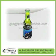 promotional neoprene bottle cooler,beer bottle stubby holder,LED lighting neoprene beer bottle cooler holder