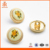 Flower decorative button for women's shirt metal coat buttons for garments