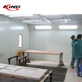 furniture paint booth price