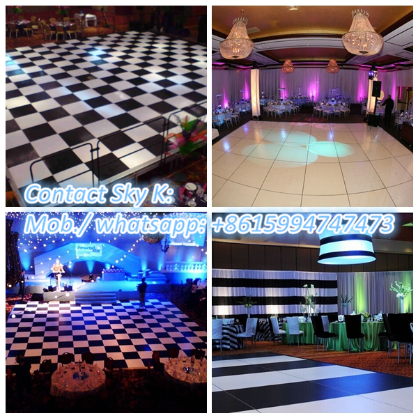 wearable waterproof pvc sports floor used for dancing hall