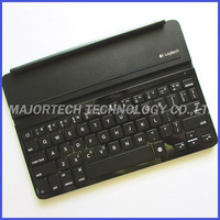 Logitech Ultrathin Wireless Bluetooth Keyboard Mini Case Cover iK710 smart wake slim tablet tablet stand for Apple iPad Air / 5