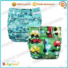 Economic Reusable Baby Diaper Waterproof Cloth Diaper Babyland Baby Diaper