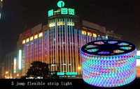 SMD5050 Outdoor LED Strip Light 110V for wall decoration