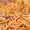 best selling automatic french fries frying machine/industrial potato chips machine
