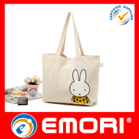 customized cotton tote shopping bag