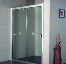 Wholesale standard size double pane sliding glass door