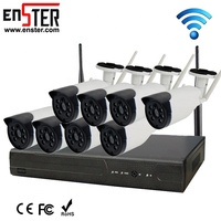 Outdoor Indoor 8Ch Hd 1080P Wifi Bullet Camera Wireless Cctv System For Home Security