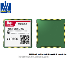 Hot sale SIM808 GSM/GPRS+GPS+bluetooth combined 2G module