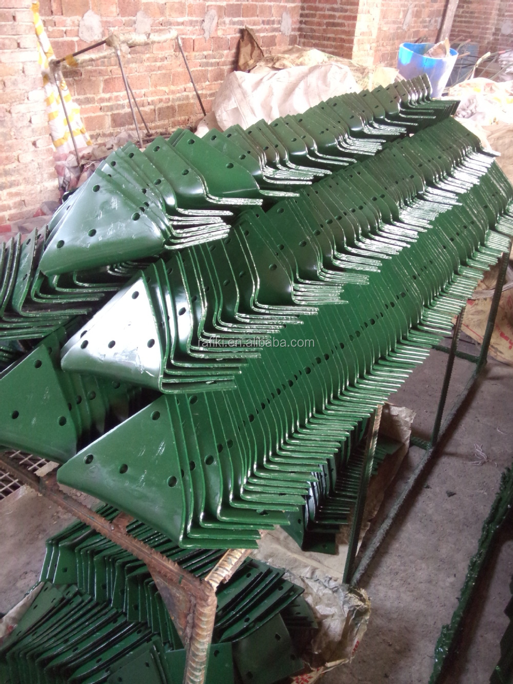 High Quality Farm Tools Animal-Drawn Plough/ Double Furrow Plow