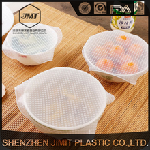 New style plastic 15*15cm clean square silicone wrap anti-fouling antibacterial moisture absorption preservative film