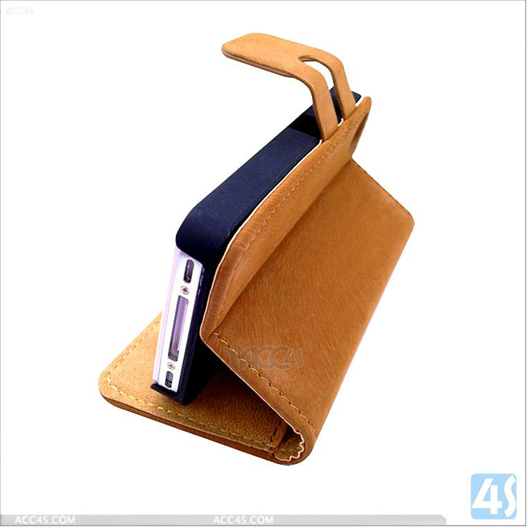 mouse pattern design leather case for iphone 5 5G P-IPH5CASE119