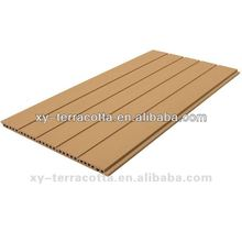terracotta wall panel,grooved-surfaced panel