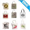 Promotion Coloured Drawing Fashion Cotton Shipping Tote Bags